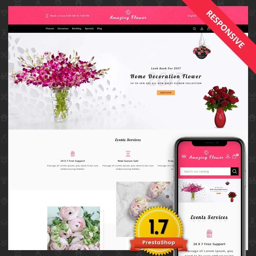 theme - Regali, Fiori & Feste - Amazing Flower - 1