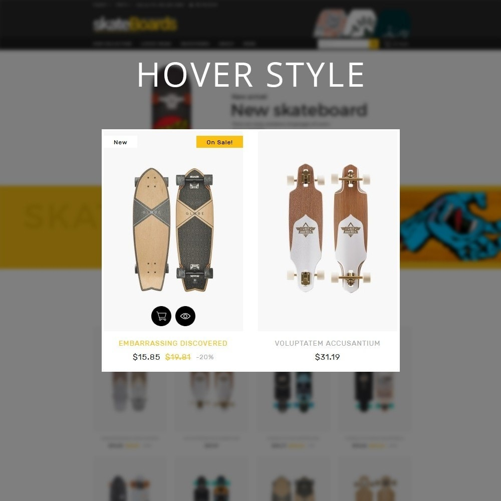 theme - Sports, Activities & Travel - Skateboard Sport Store - 11