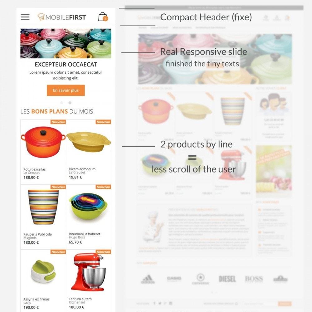 theme - Lebensmittel & Restaurants - Mobilefirst - 3