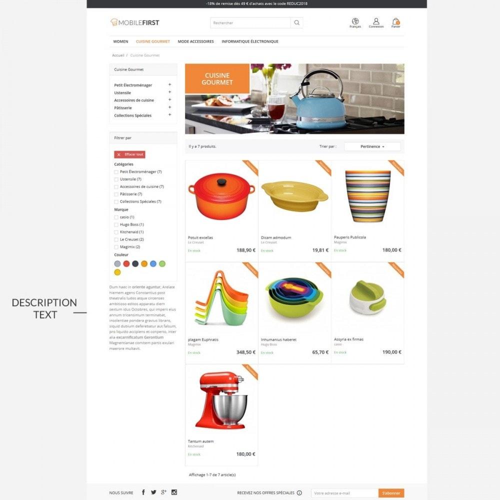 theme - Lebensmittel & Restaurants - Mobilefirst - 5