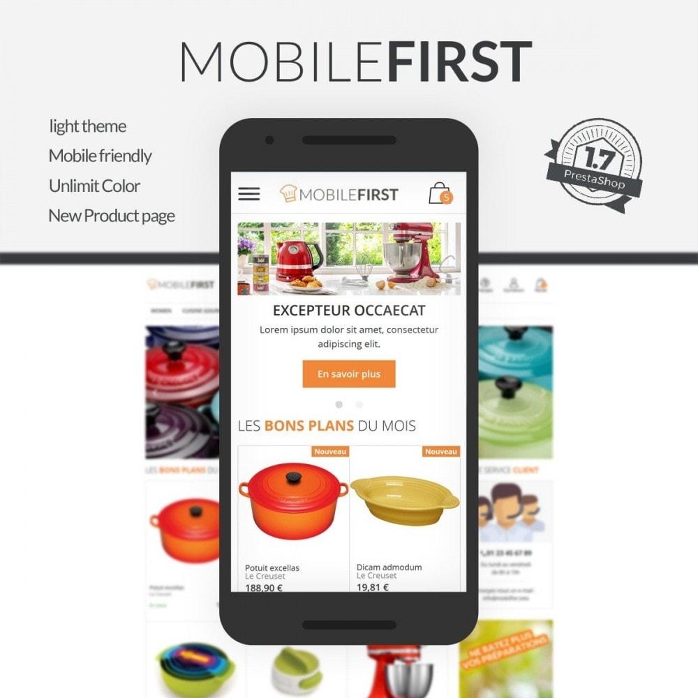 theme - Alimentation & Restauration - Mobilefirst - 2