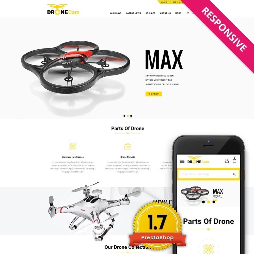 theme - Elettronica & High Tech - DroneCam Camera Store - 1