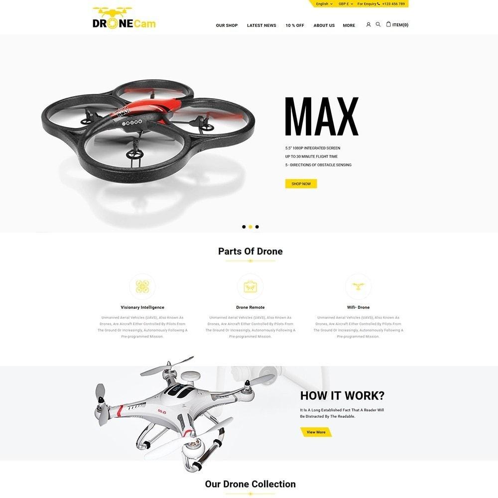 theme - Elettronica & High Tech - DroneCam Camera Store - 2