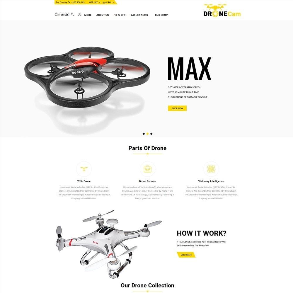 theme - Elettronica & High Tech - DroneCam Camera Store - 3