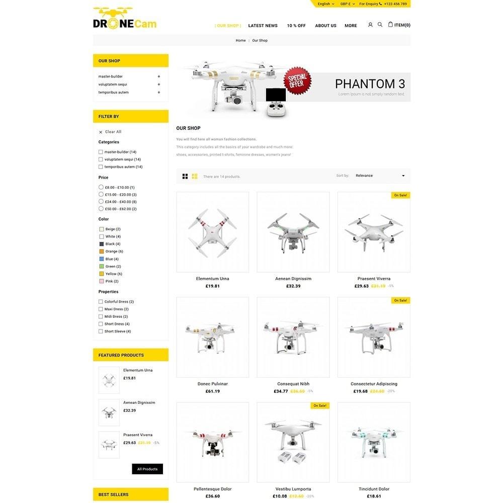 theme - Electronique & High Tech - DroneCam Camera Store - 4