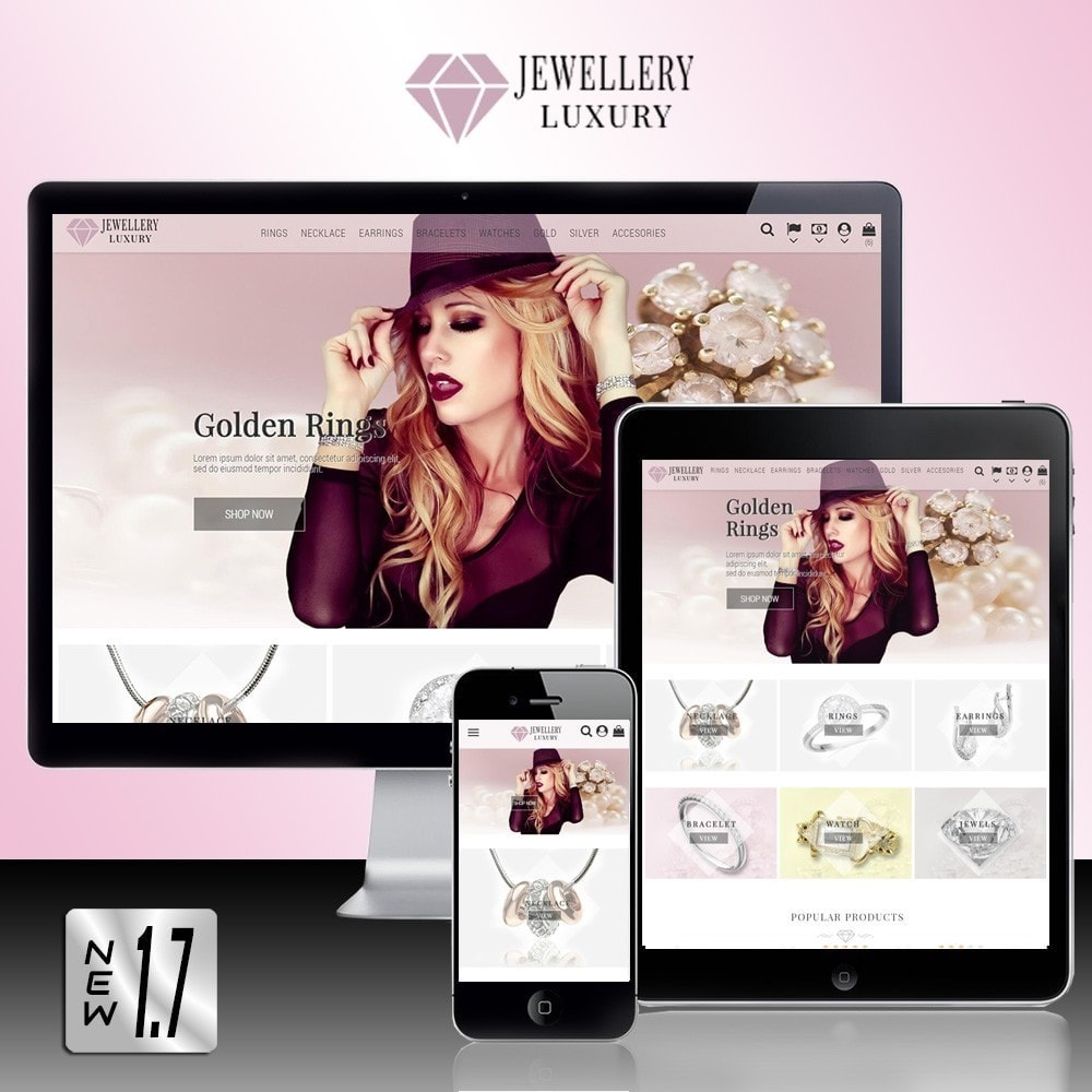 theme - Bellezza & Gioielli - Jewellery Luxury - 1