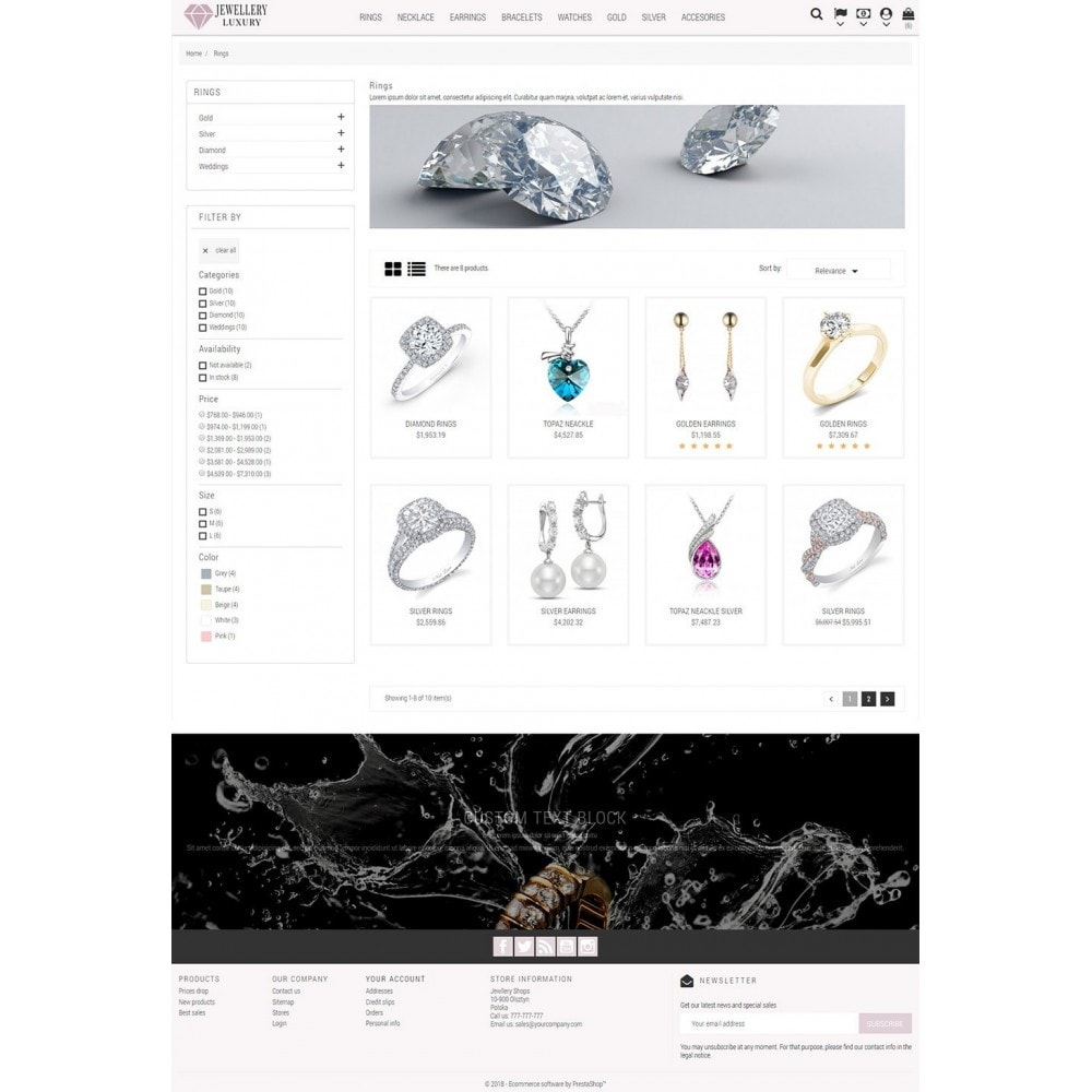 theme - Bellezza & Gioielli - Jewellery Luxury - 4