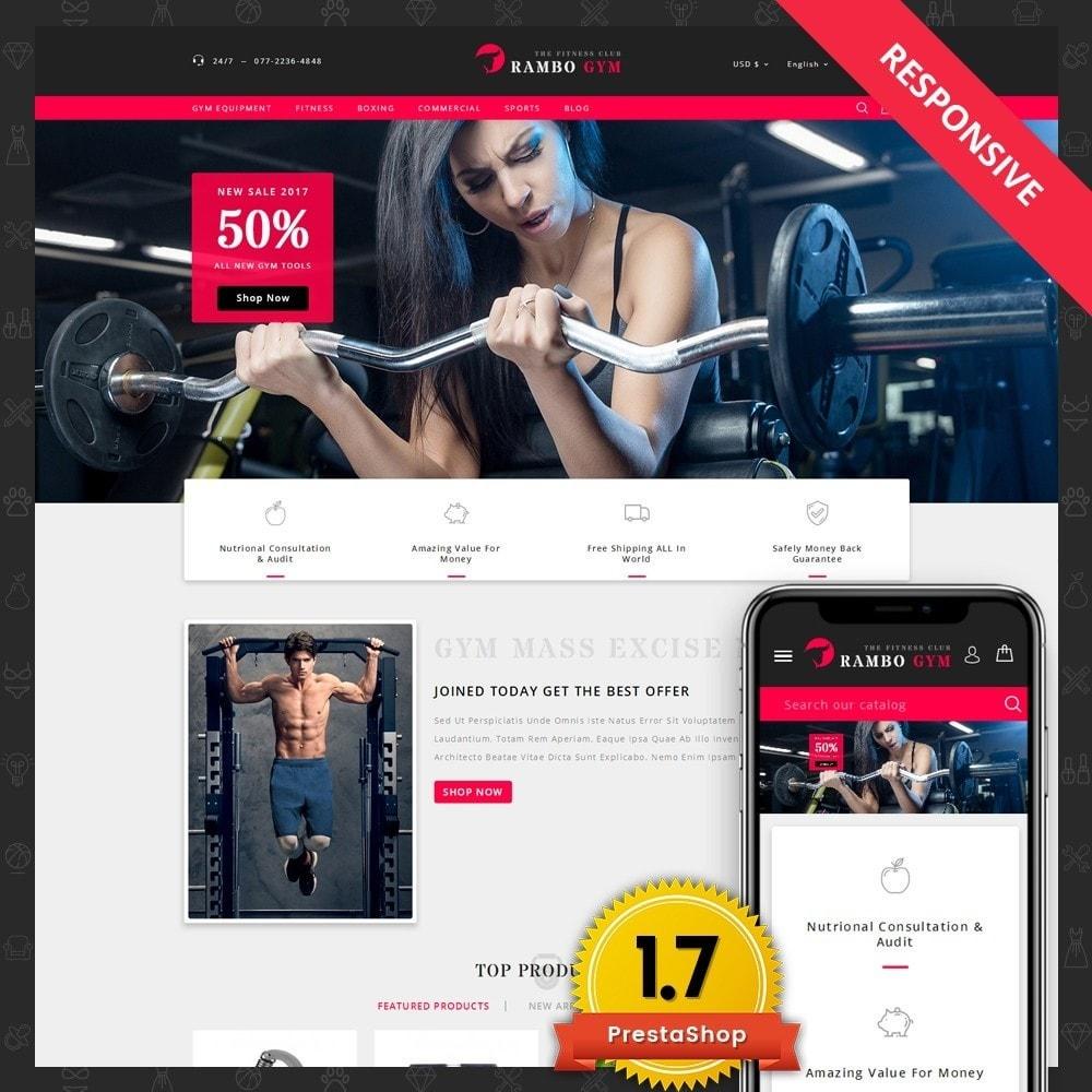 theme - Здоровье и красота - Rambo Gym - Fitness - 1