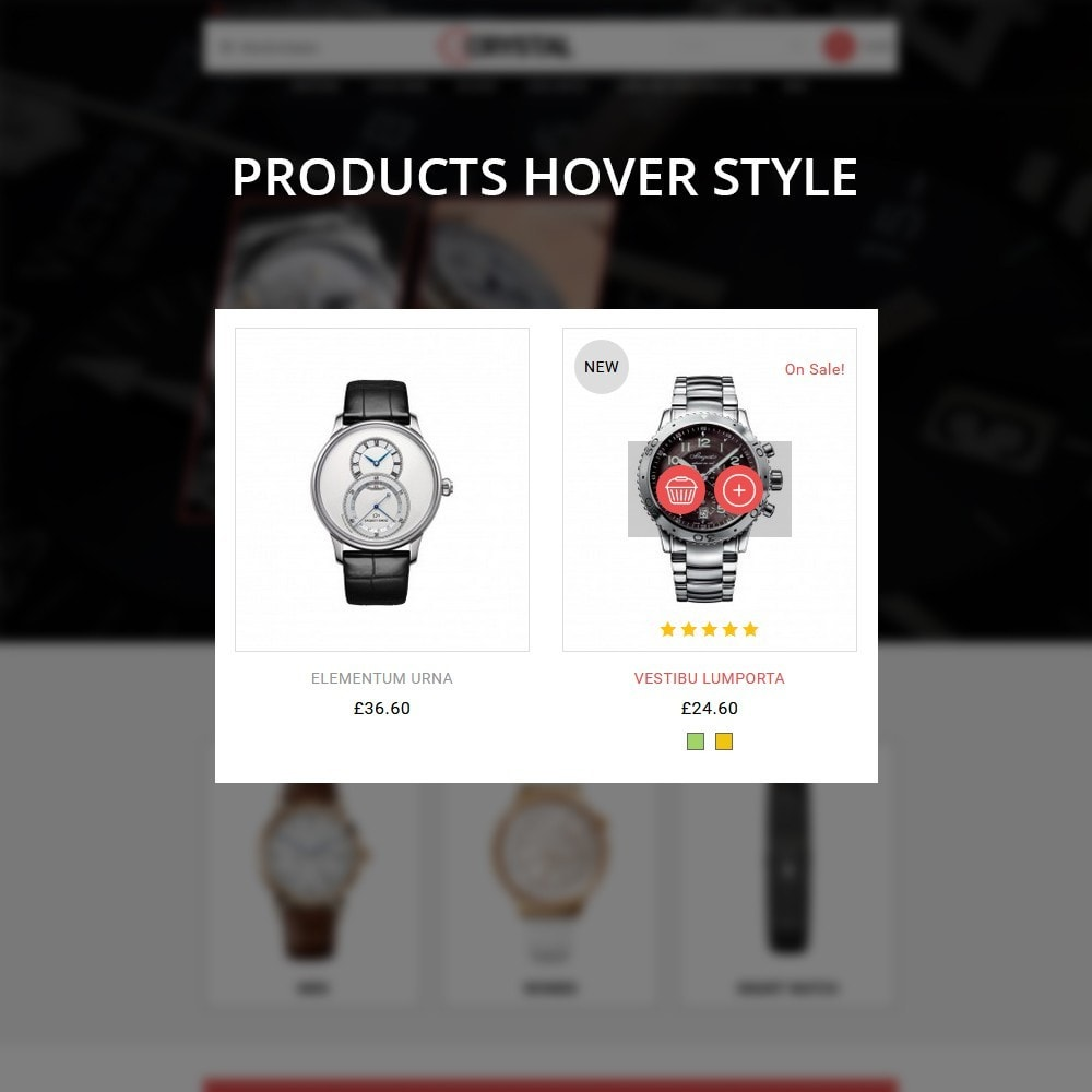 theme - Elektronika & High Tech - Crystal Watch Store - 13