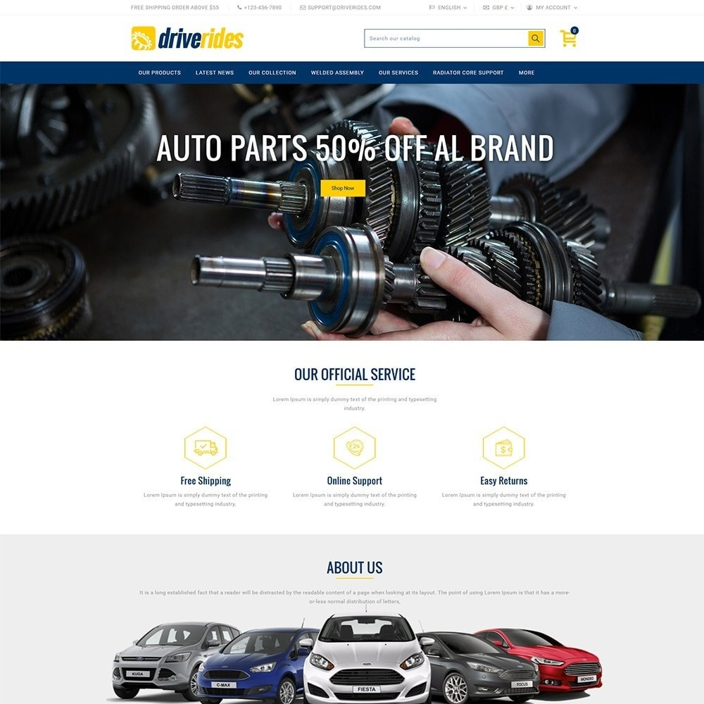 theme - Auto & Moto - Driverides Motor Shop - 2