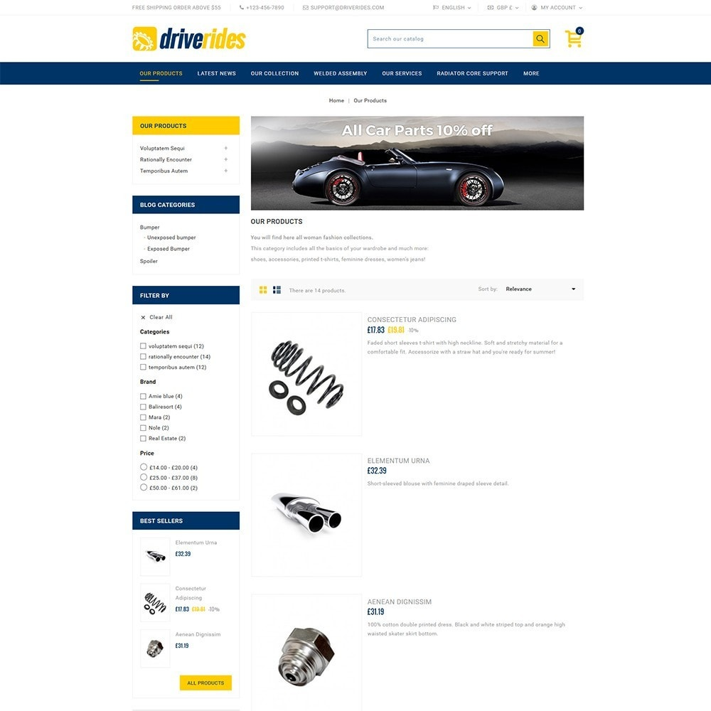 theme - Auto & Moto - Driverides Motor Shop - 4