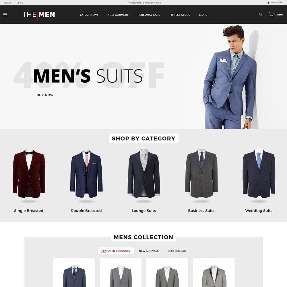 theme - Moda & Obuwie - TheMan Fashion Store - 2