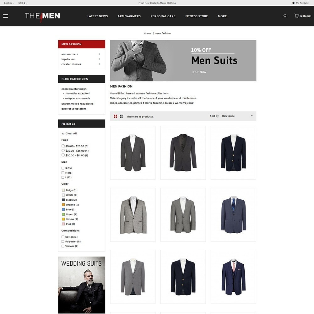 theme - Мода и обувь - TheMan Fashion Store - 4