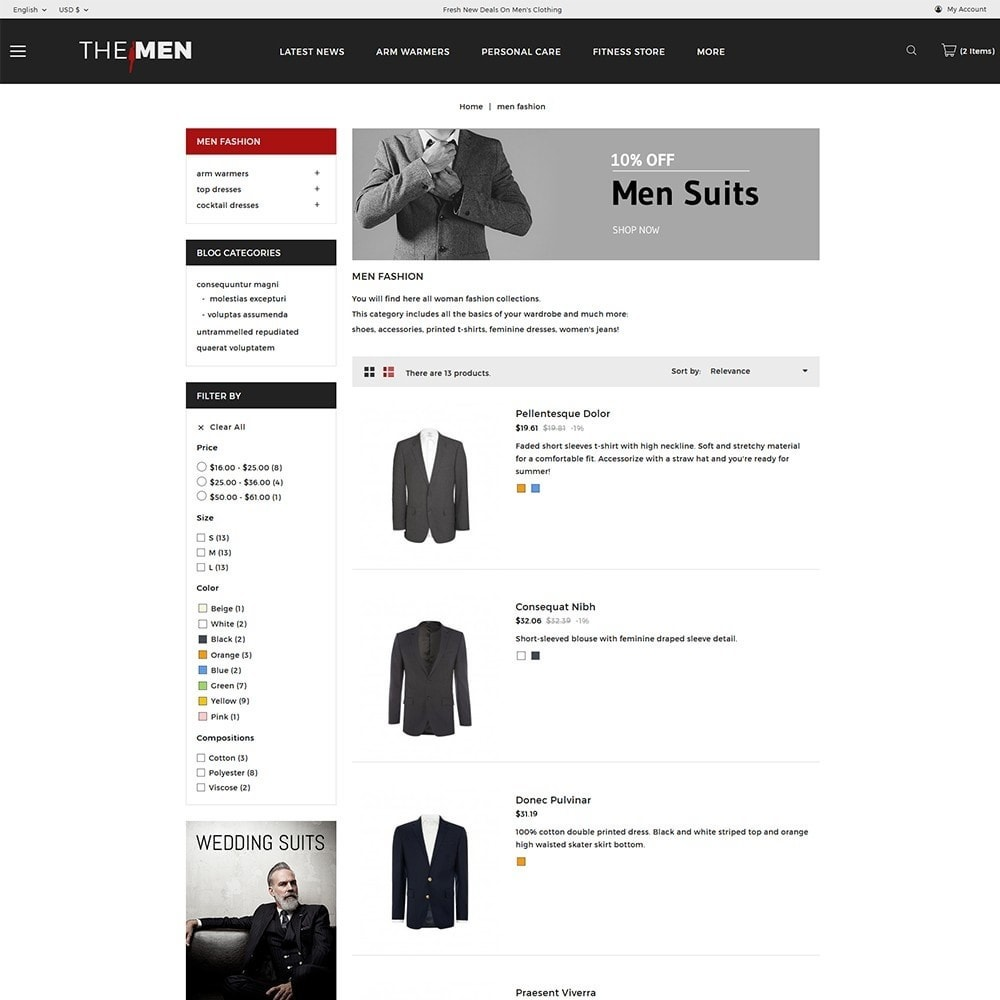 theme - Мода и обувь - TheMan Fashion Store - 5