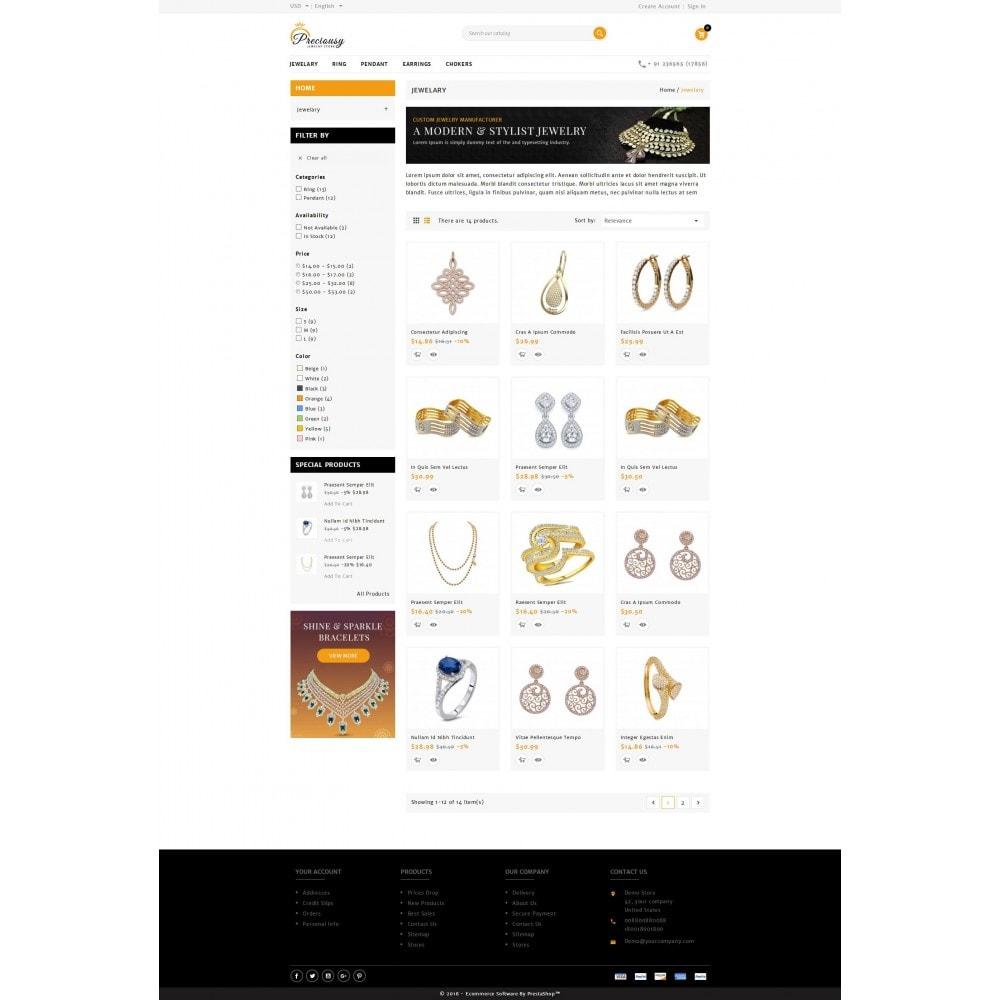 theme - Biżuteria & Akcesoria - Preciousy Jewelry Store - 3