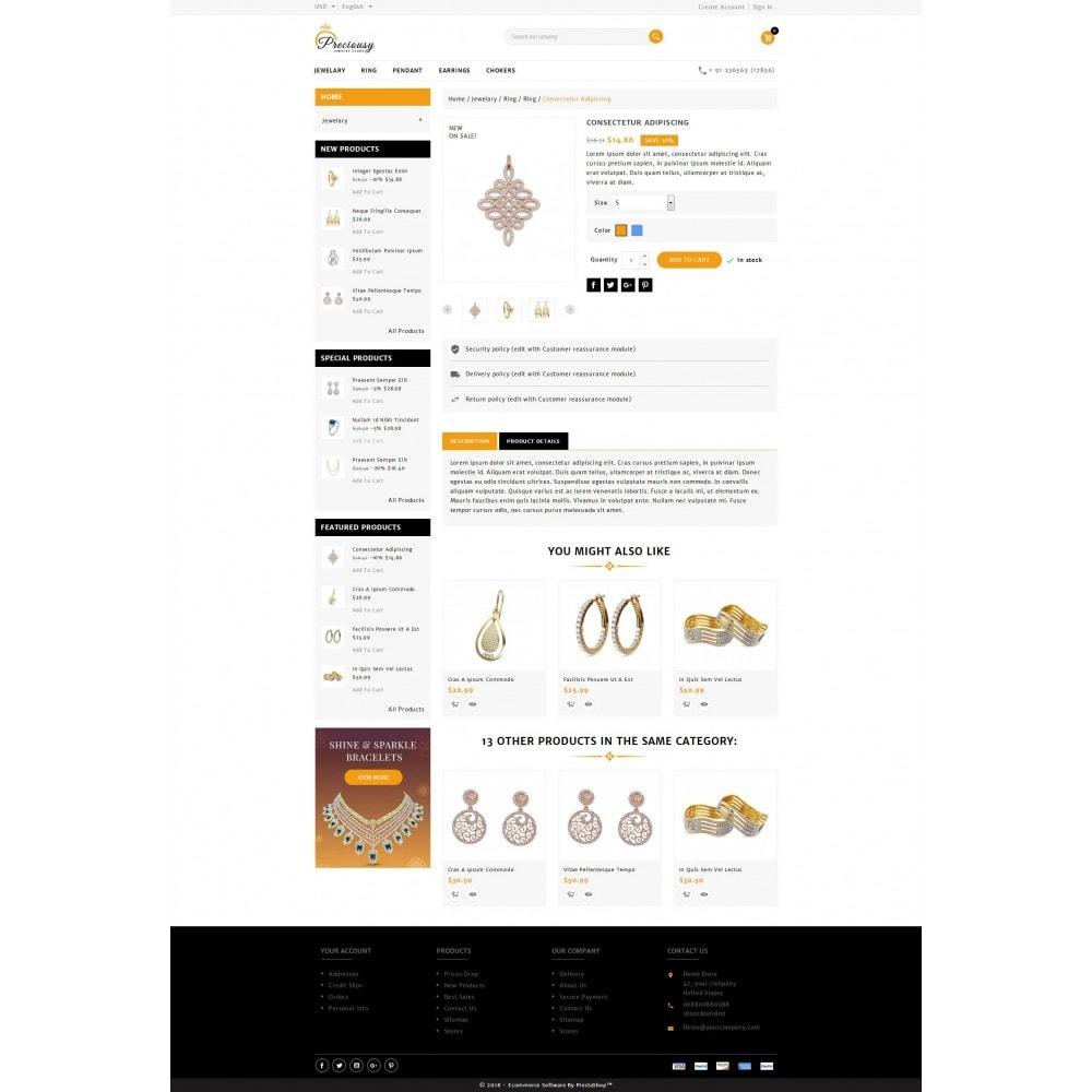 theme - Jewelry & Accessories - Preciousy Jewelry Store - 5