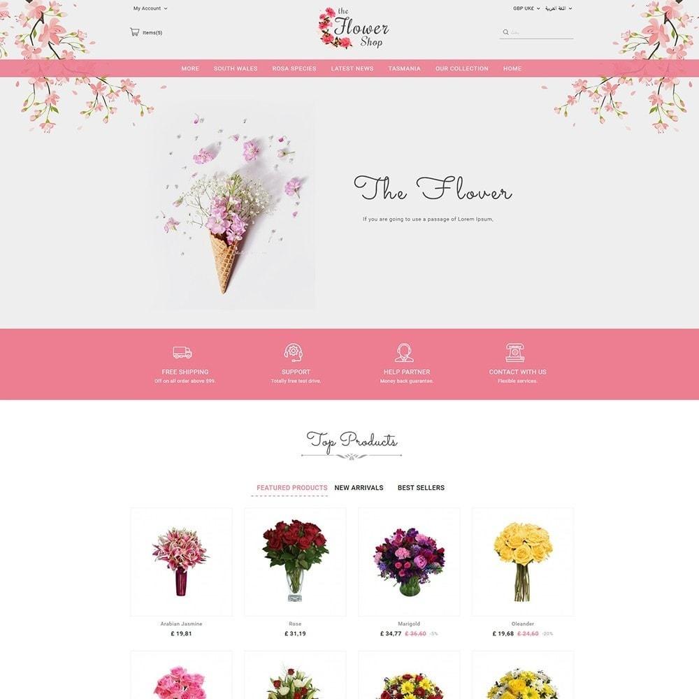 theme - Regalos, Flores y Celebraciones - The Flower Shop - 3