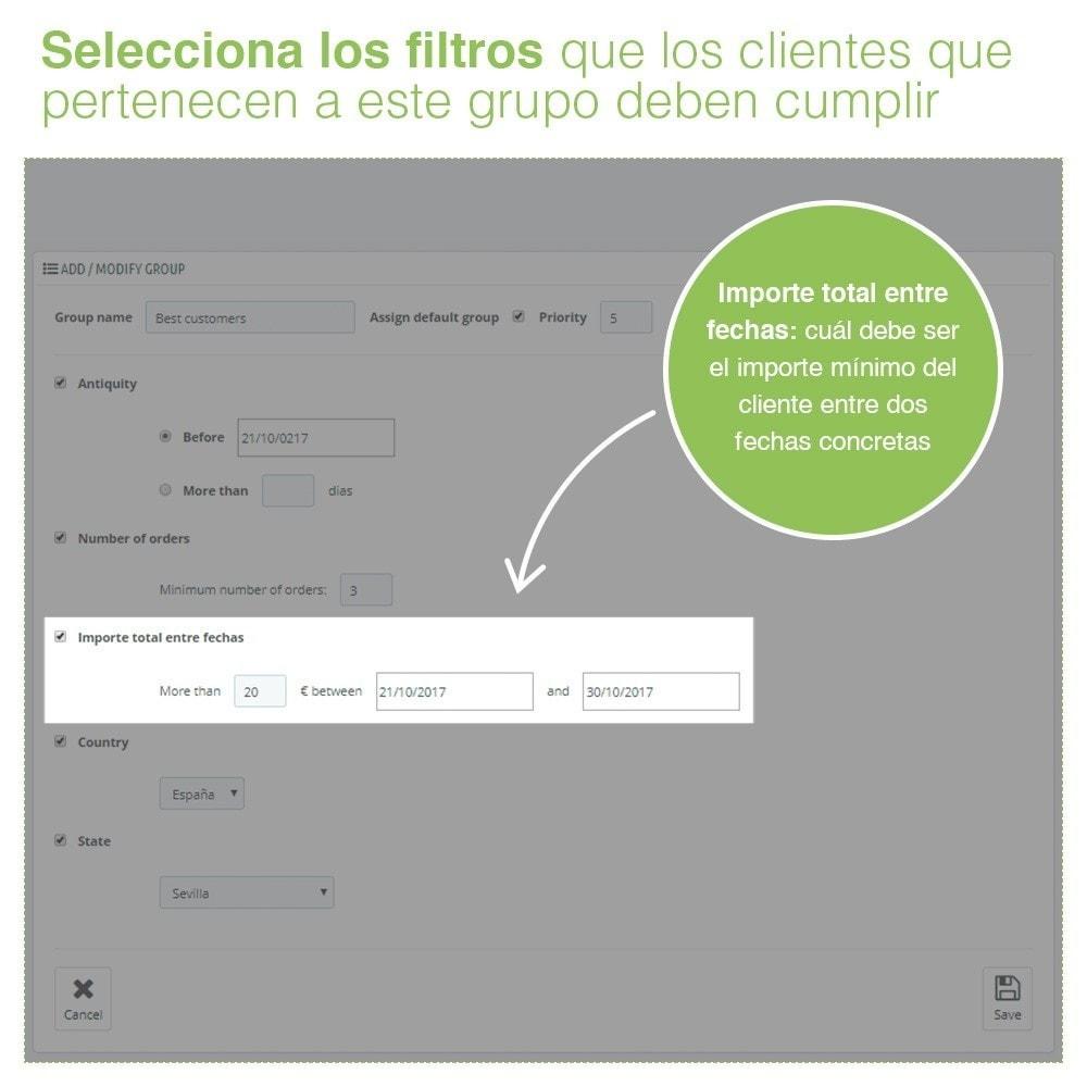 module - Gestión de clientes - Gestión Avanzada de Grupo de Clientes – Edición Masiva - 5