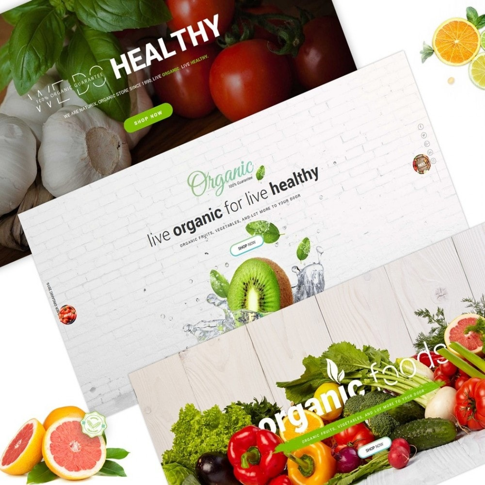 theme - Alimentation & Restauration - FoodStore - 2