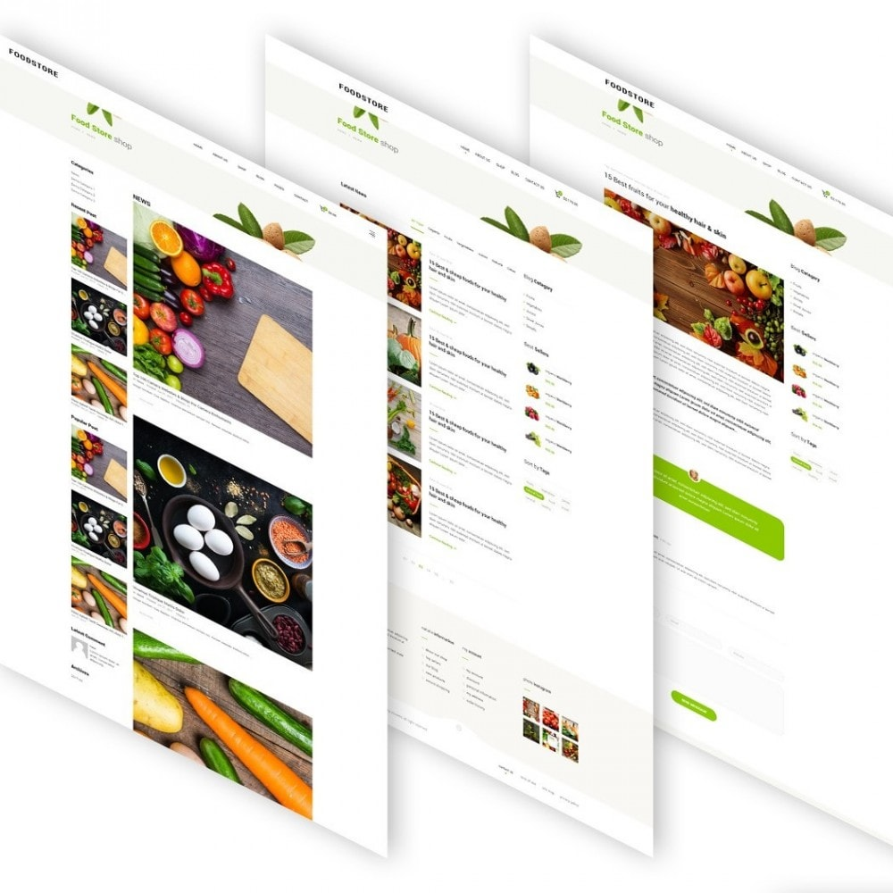 theme - Alimentation & Restauration - FoodStore - 5