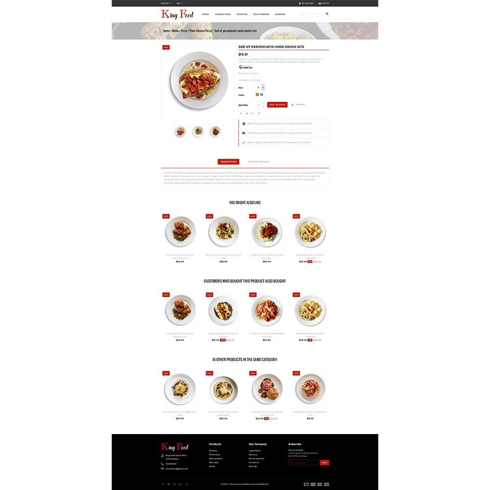 theme - Food & Restaurant - King Food Store - 5