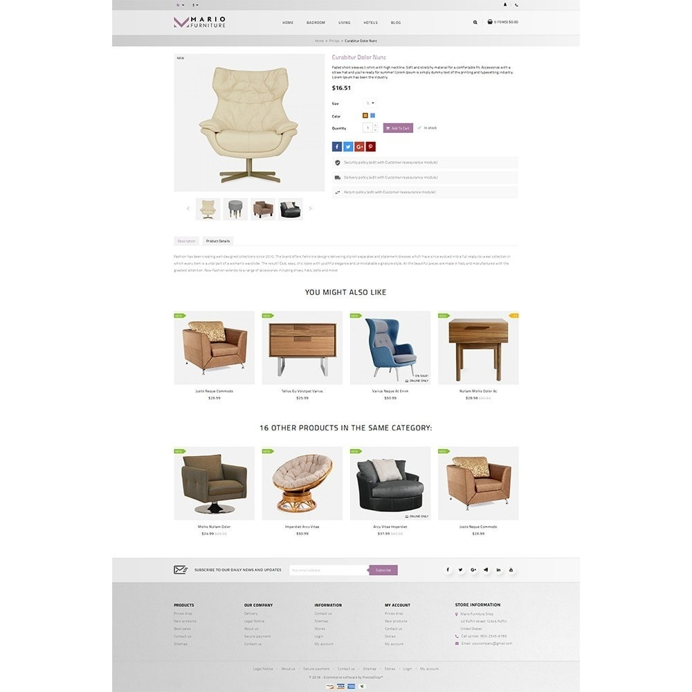 theme - Maison & Jardin - Mario Furniture Shop - 5