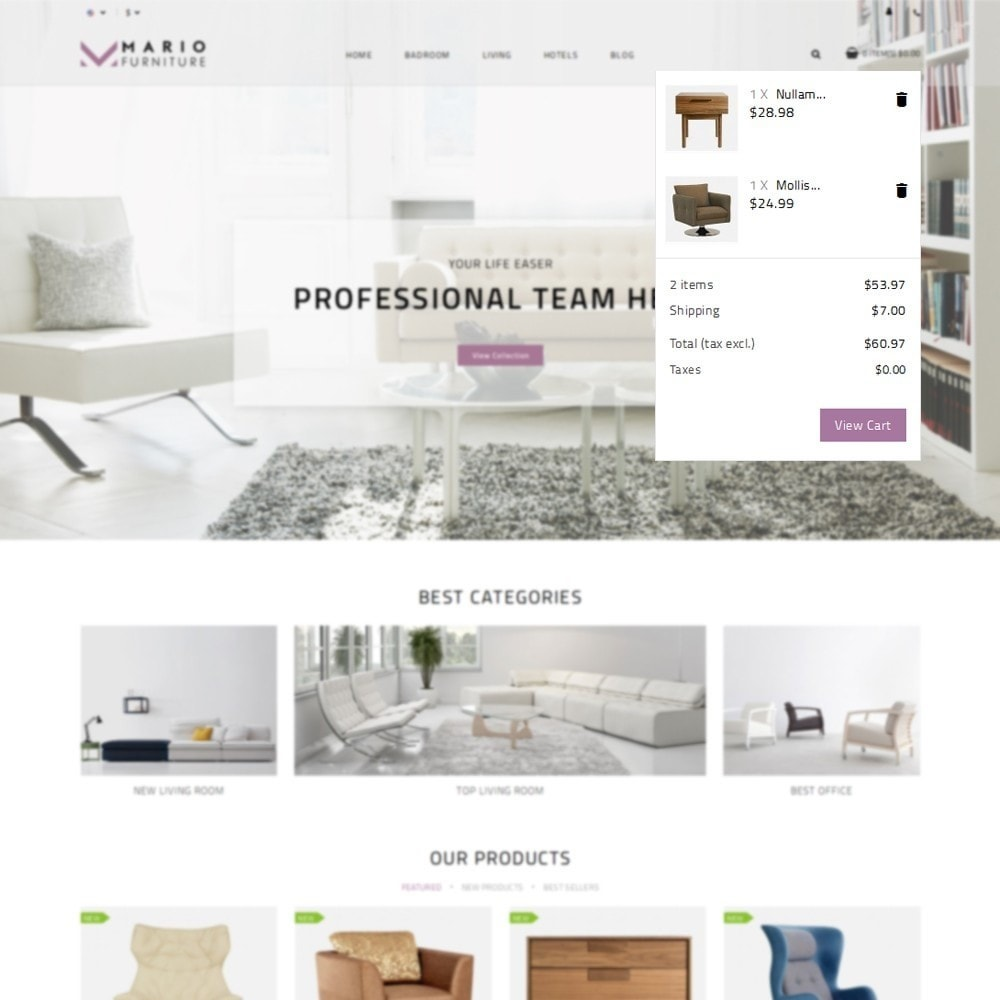 theme - Casa & Jardins - Mario Furniture Shop - 7