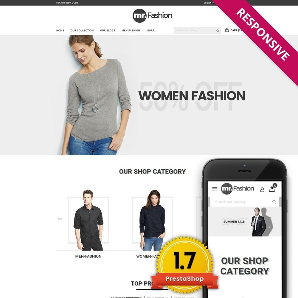 theme - Moda & Calzature - MR Fashion Store - 1