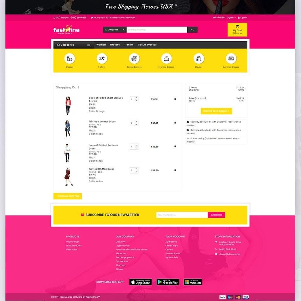 theme - Мода и обувь - FashFine–Fashion and LifeStyle Accessories Super Store - 5