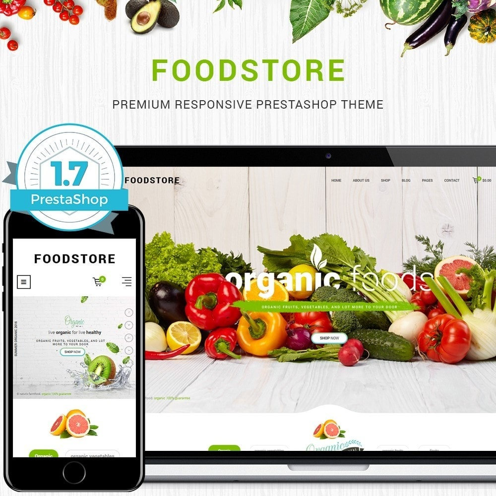 theme - Lebensmittel & Restaurants - FoodStore II - 1