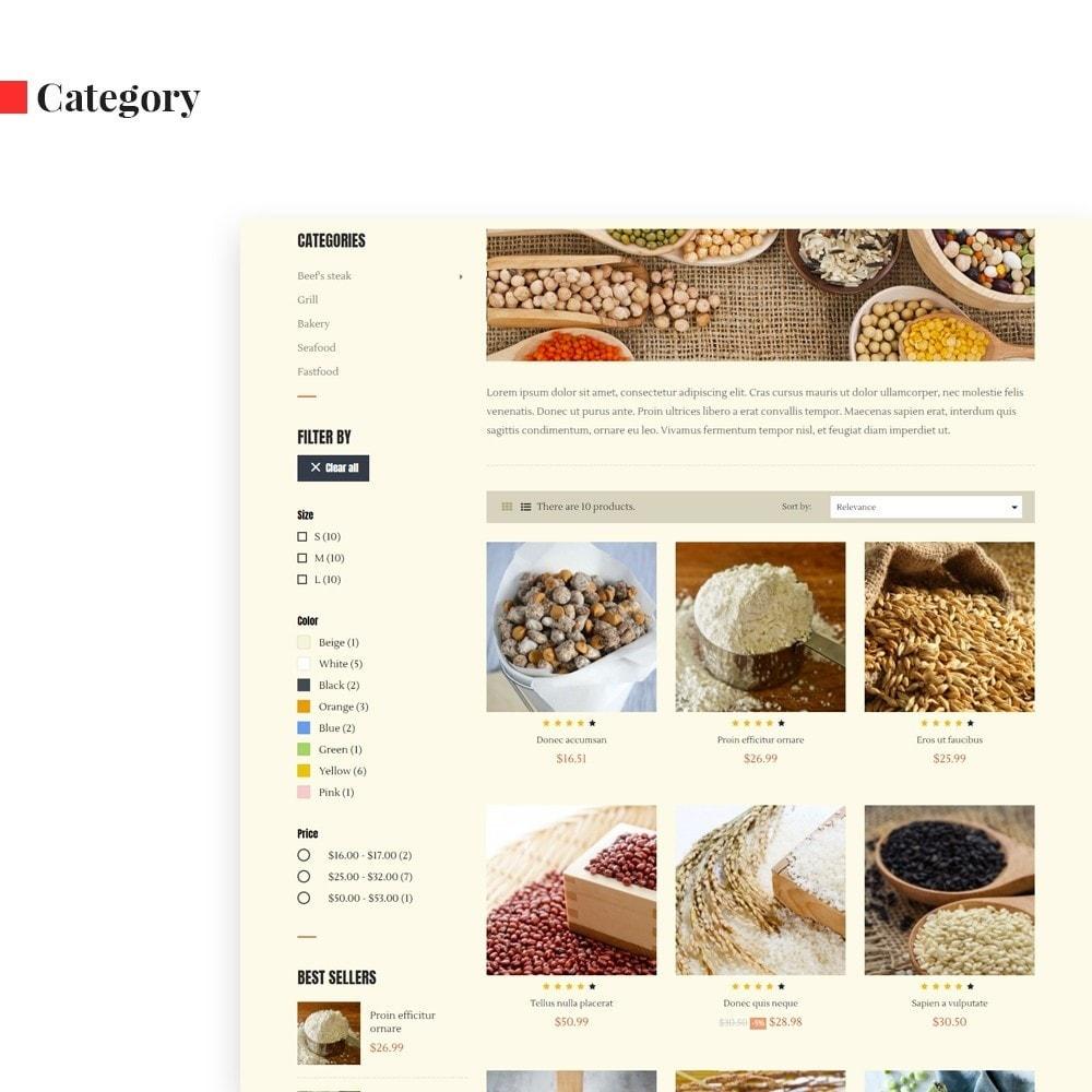 theme - Alimentos & Restaurantes - Leo Cereals - 6