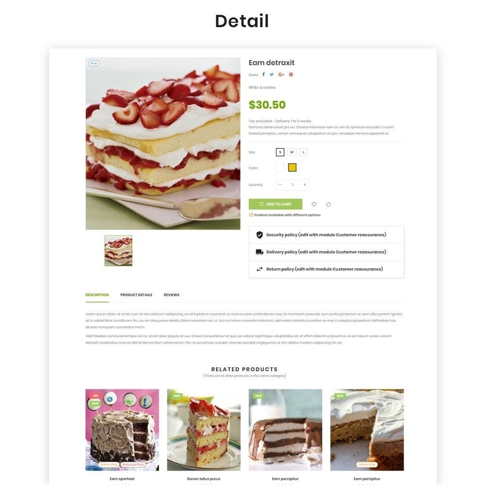 theme - Продовольствие и рестораны - Leo Eros Cake Store - 7