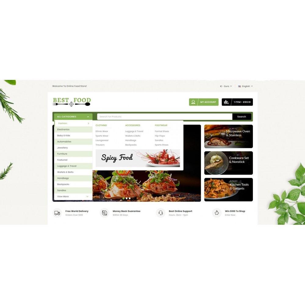 theme - Продовольствие и рестораны - Best Food Store - 6