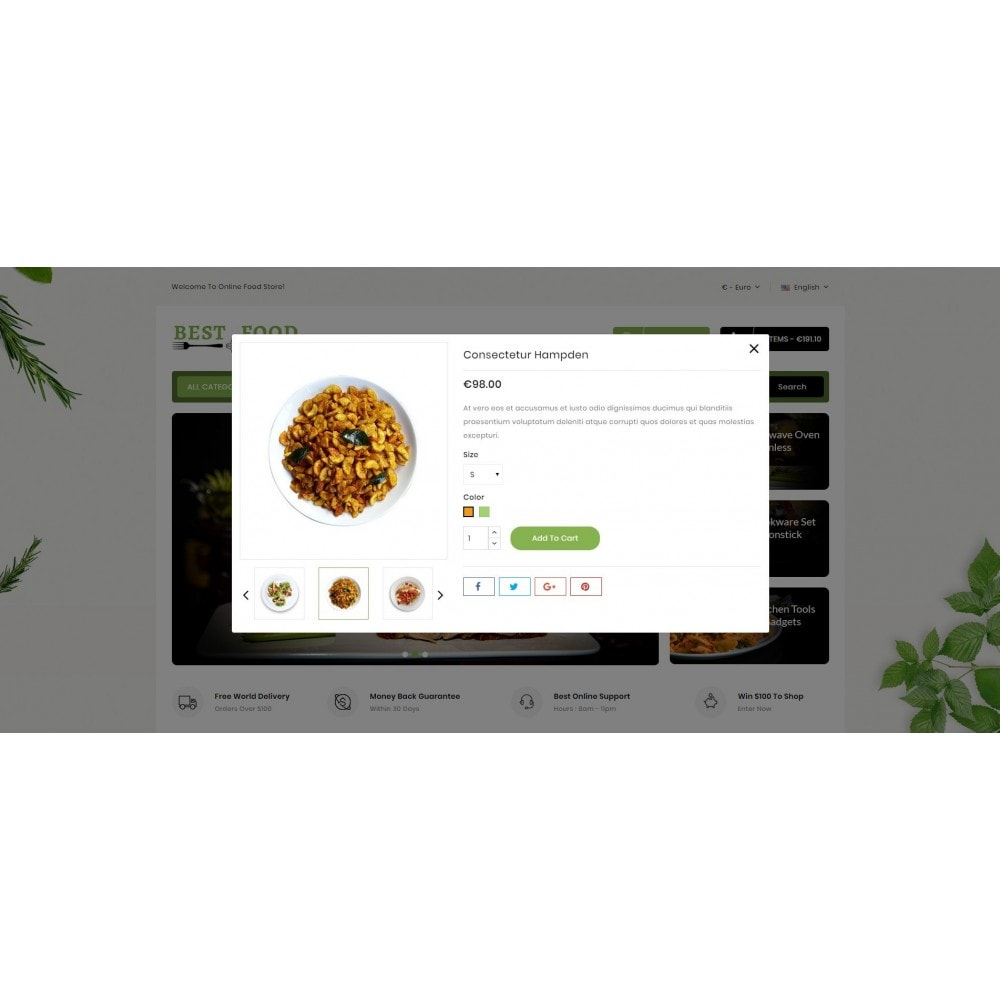 theme - Alimentation & Restauration - Best Food Store - 7