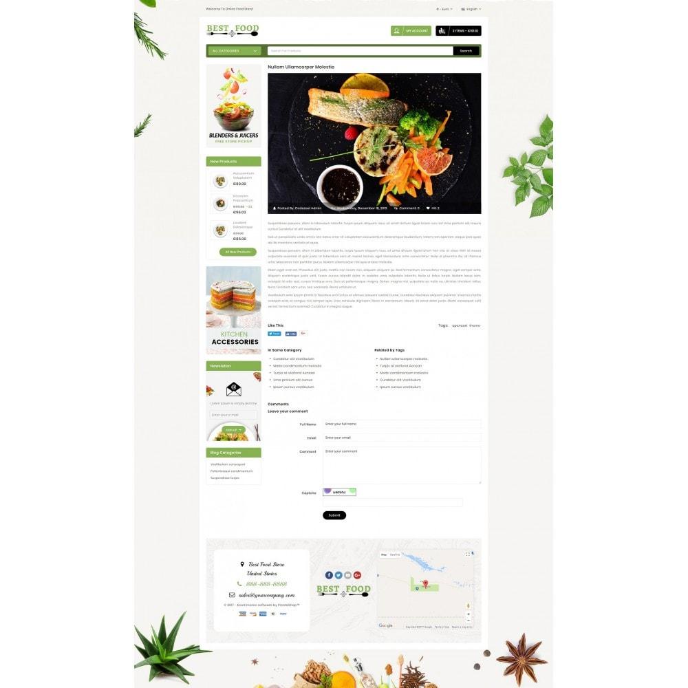 theme - Продовольствие и рестораны - Best Food Store - 9