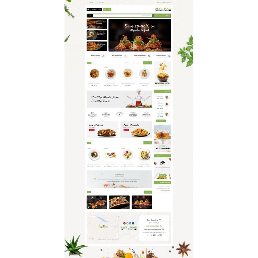 theme - Alimentation & Restauration - Best Food Store - 10