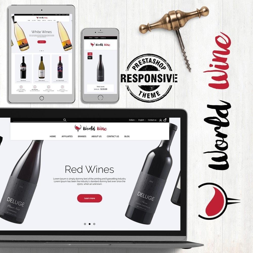 theme - Напитки и с сигареты - World Wine Shop - 1