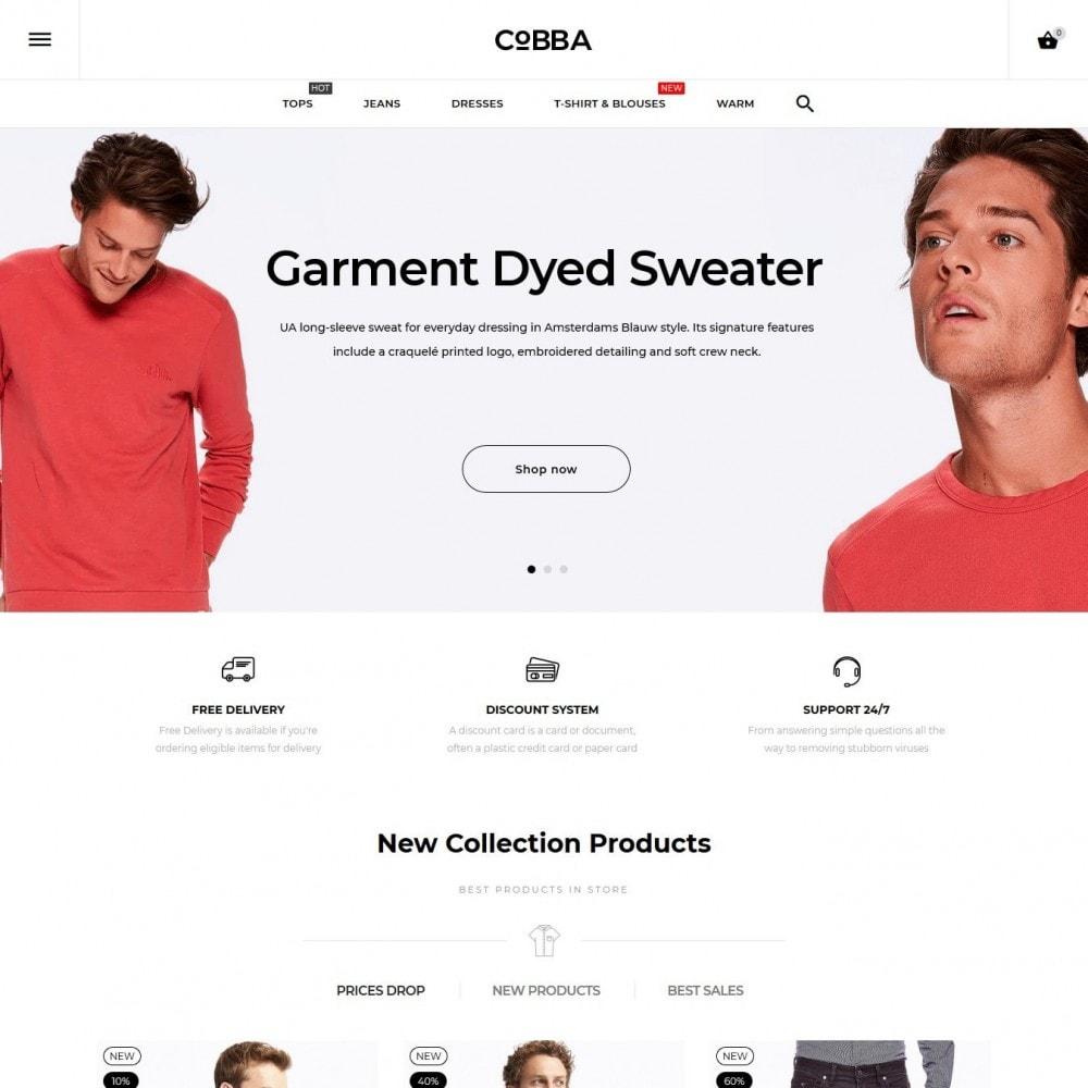 theme - Moda & Calzature - Cobba Men's Wear - 2
