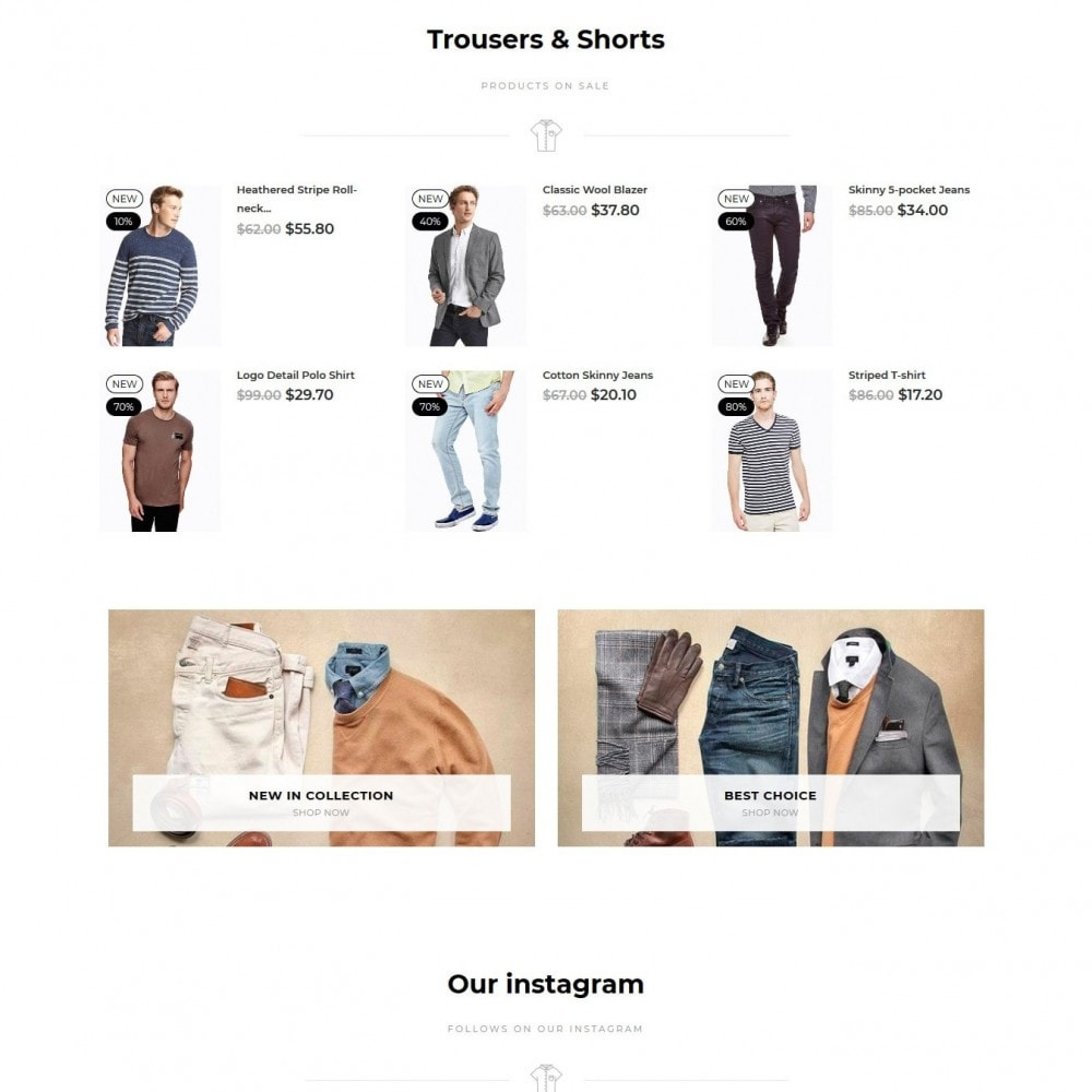 theme - Fashion & Shoes - Cobba Men's Wear - 5