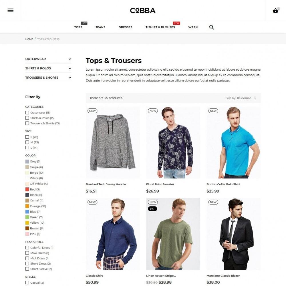 theme - Moda & Calzature - Cobba Men's Wear - 6