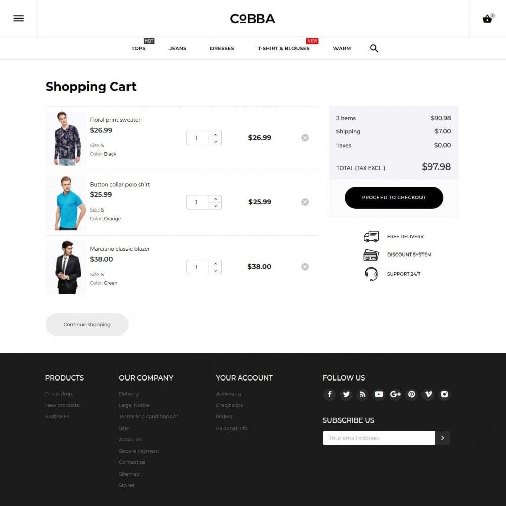 theme - Moda & Calzature - Cobba Men's Wear - 12
