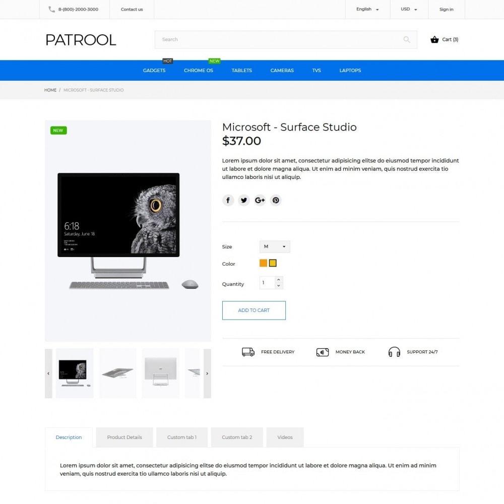 theme - Elektronik & High Tech - Patrool - High-tech Shop - 5