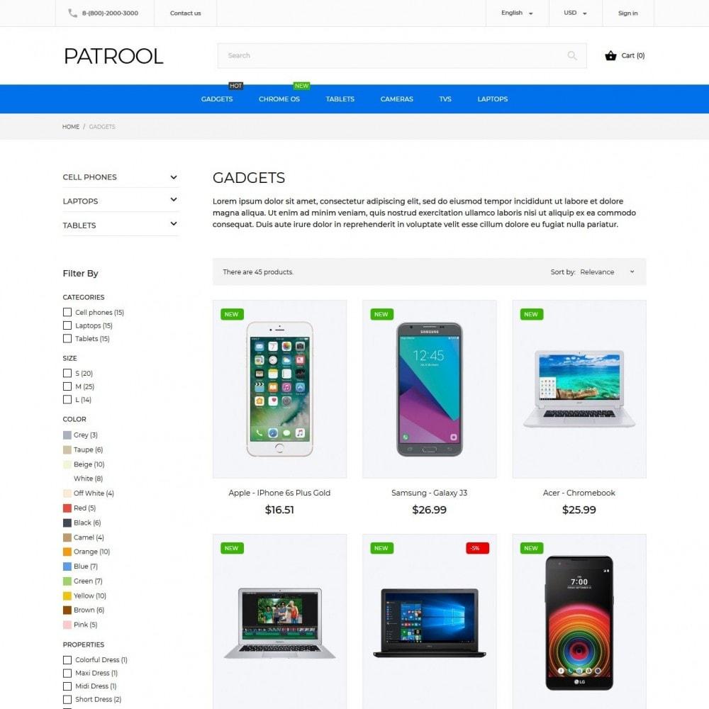 theme - Elektronik & High Tech - Patrool - High-tech Shop - 6