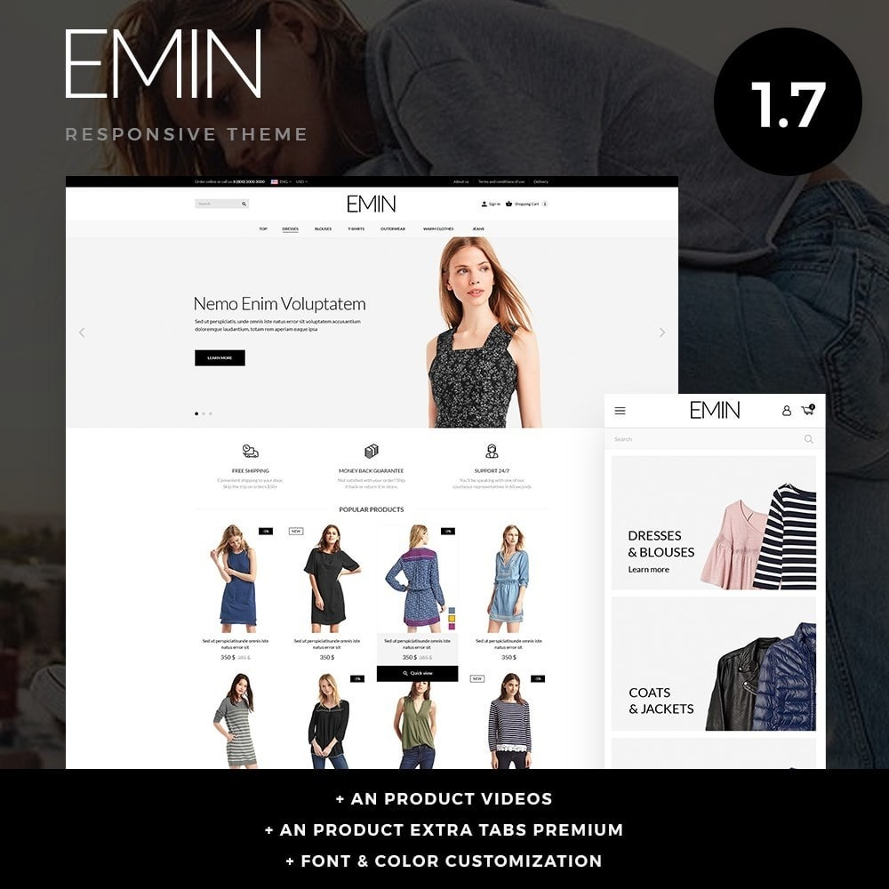 theme - Fashion & Shoes - Emin Fashion Store - 1