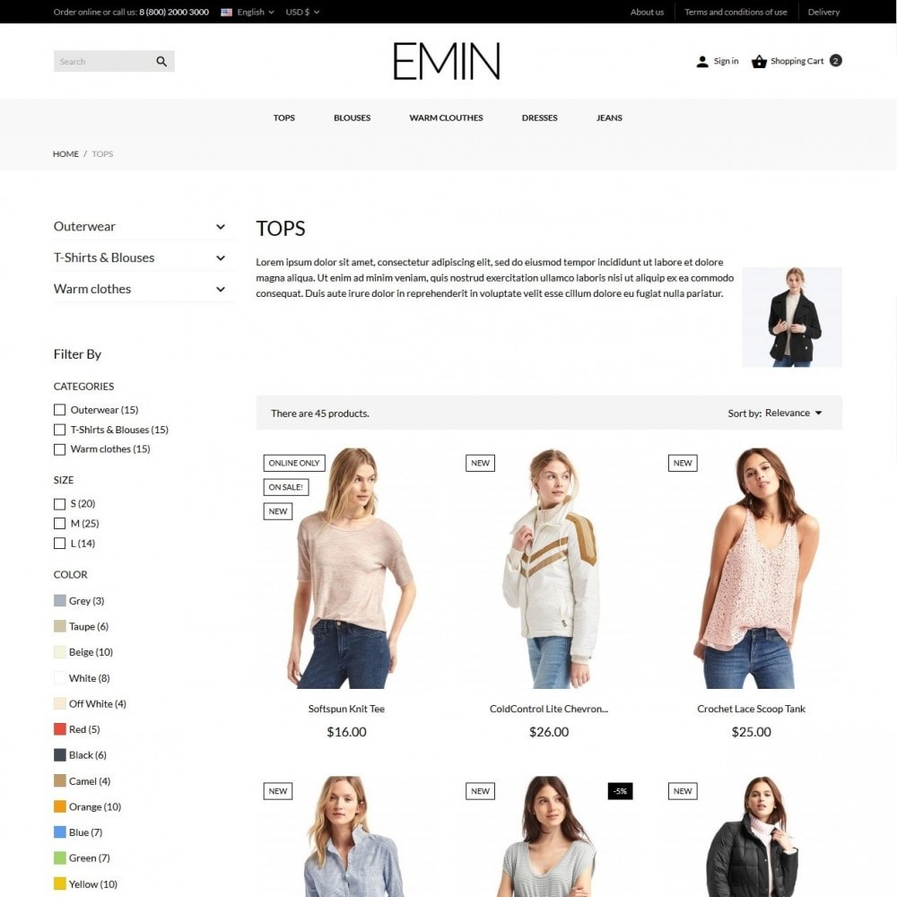 theme - Fashion & Shoes - Emin Fashion Store - 6