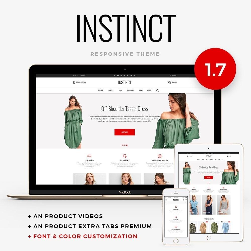 theme - Мода и обувь - Instinct Fashion Store - 1
