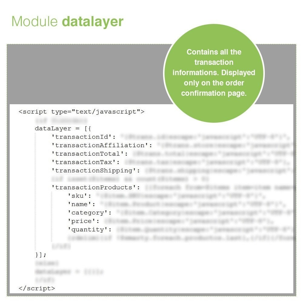module - Analyses & Statistieken - Google Tag Manager Integration - PRO - 7