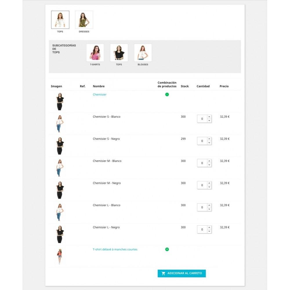 module - Proceso rápido de compra - Formulario de pedido - 4