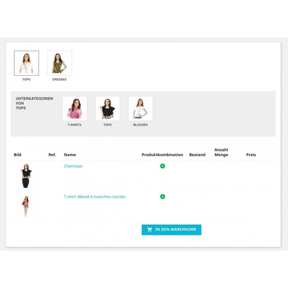 module - Express Checkout Prozesse - Bestellformular - 3