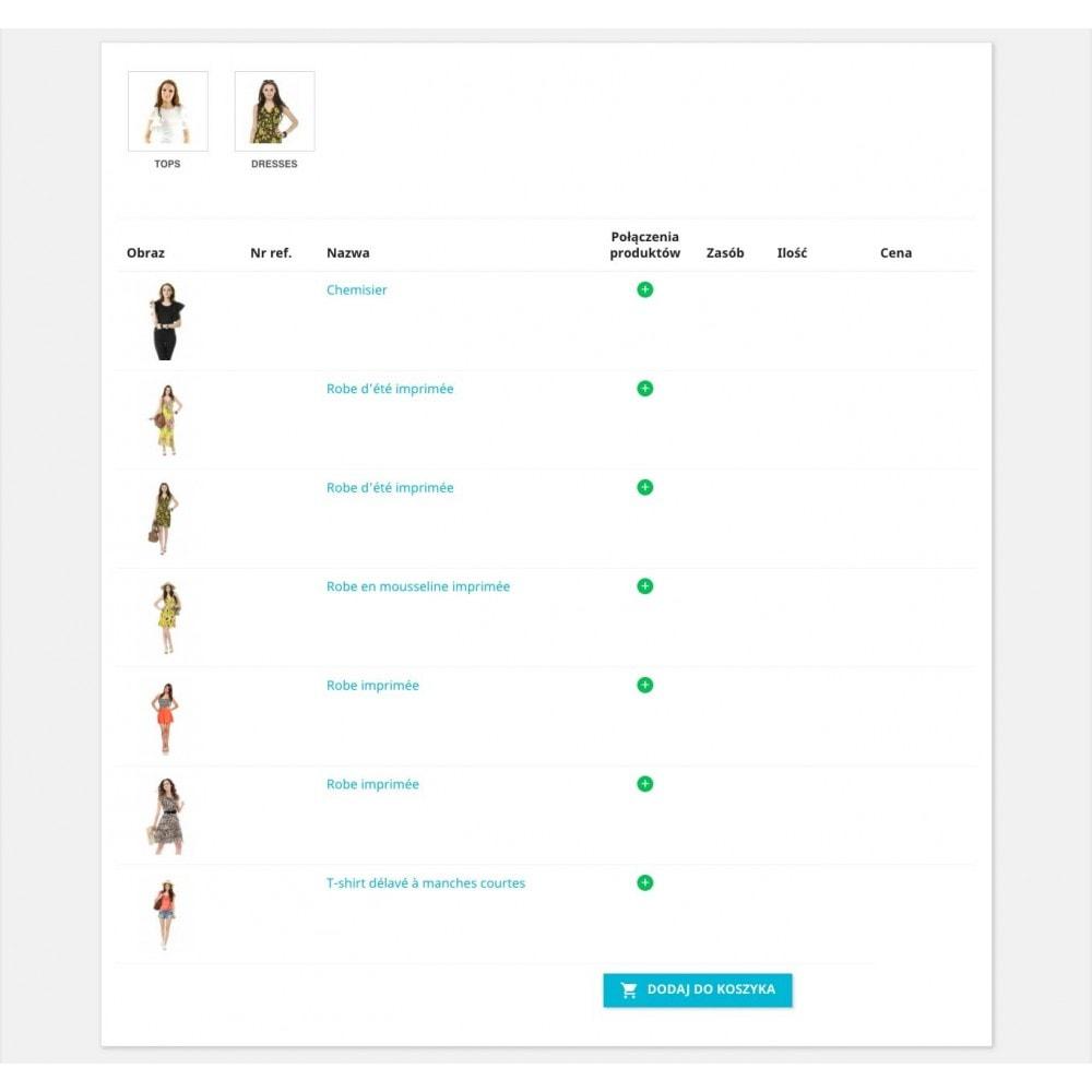 module - Szybki proces składania zamówienia - Formularz zamówienia - 1